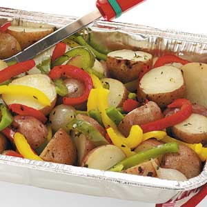 Thyme Grilled Vegetables Recipe