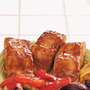 Orange-Glazed Salmon Recipe