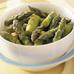 Gingered Asparagus Recipe
