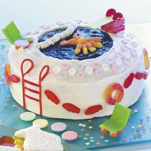 Pool Party Cake Recipe