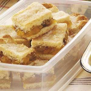 Apricot Pastry Bars Recipe