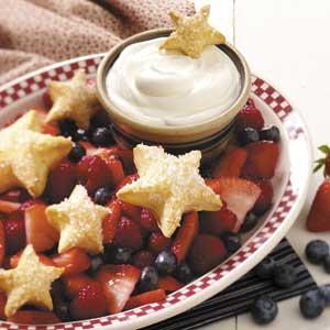 Stars and Stripes Forever Dessert Recipe