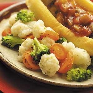 Grilled Herb Vegetables Recipe