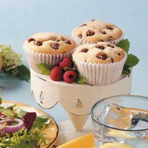 Chocolate Raspberry Tea Cakes Recipe
