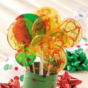 Peppermint Lollipops Recipe