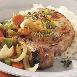 Baked Sweet-Sour Pork Chops Recipe