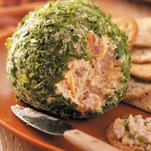 Festive Ham 'n' Cheese Spread Recipe