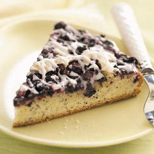 Blueberry-Poppy Seed Brunch Cake Recipe