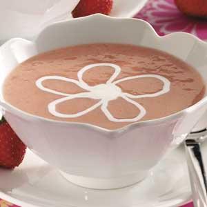 Strawberry Dessert Soup Recipe