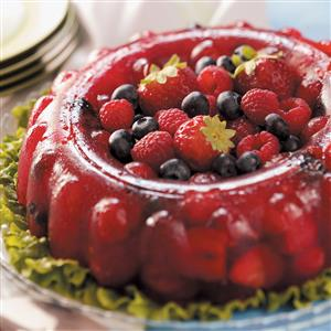 Berry Gelatin Mold Recipe