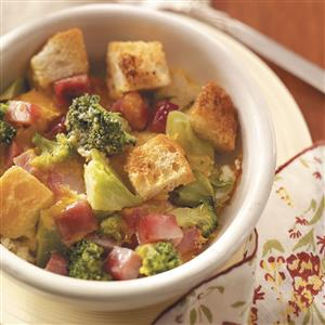 Ham and Broccoli Bake Recipe