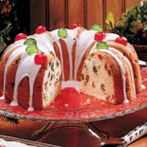 Fruity Bundt Cake Recipe
