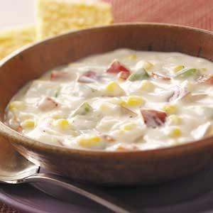 Hearty Potato Corn Chowder Recipe
