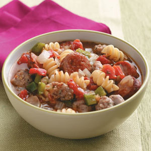 Hearty Sausage Stew Recipe