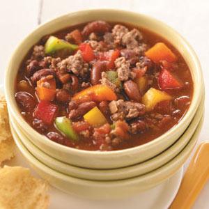 Ranch Bean Chili Recipe