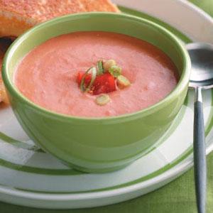 Homemade Creamy Tomato Soup Recipe