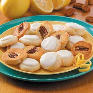 Lemony Bonbon Cookies Recipe