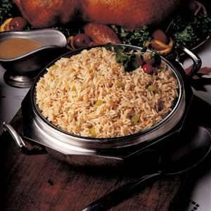 Zesty Herbed Rice Pilaf Recipe