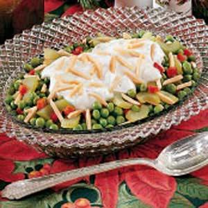 Creamed Celery and Peas Recipe