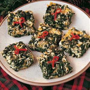 Herbed spinach bake recipe taste of home herbed spinach bake recipe forumfinder Gallery
