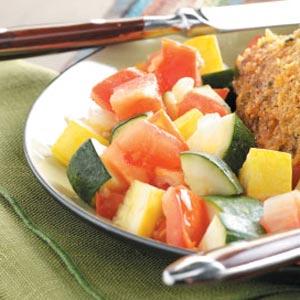 Tomato Zucchini Saute Recipe