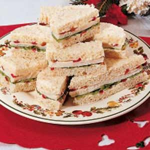 Festive Tea Sandwiches Recipe