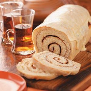 Cinnamon Swirl Orange Bread