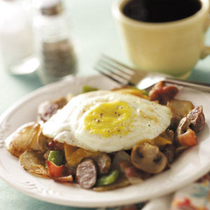 Hearty Breakfast Combo Recipe