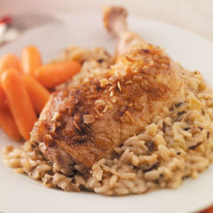 Golden Chicken with Rice Recipe