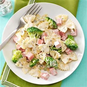 Ham & Broccoli Pasta Recipe