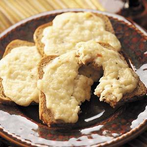 Mozzarella Rye Snacks Recipe