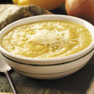 Roasted Yellow Pepper Soup Recipe