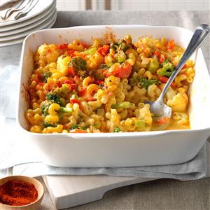 Veggie Macaroni & Cheese Recipe