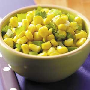 Cilantro Corn Saute Recipe