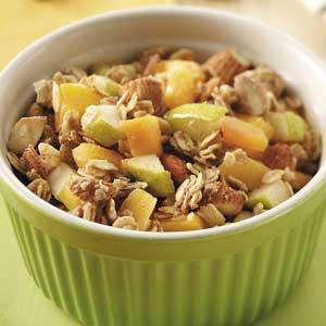 Peach 'n' Pear Crisps Recipe