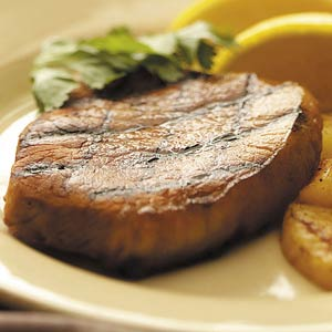 Grilled Pork Chops with Pineapple Recipe