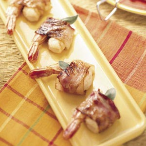 Sage Shrimp Skewers Recipe