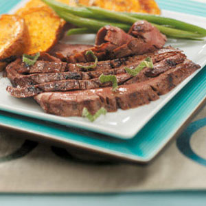Easy Grilled Flank Steak Recipe