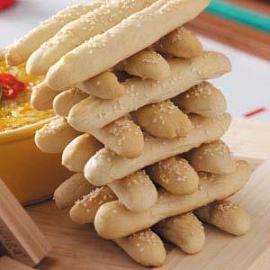 Breadsticks Jenga Recipe