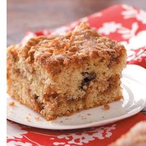 Aunt Lillian's Crumb Cake Recipe