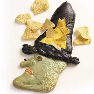 Chip 'n' Dip Bread Witch Recipe