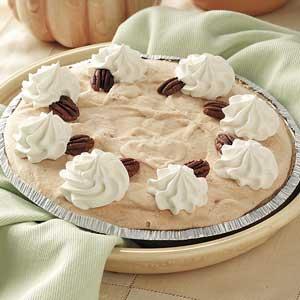 Quick Frozen Pumpkin Pie Recipe