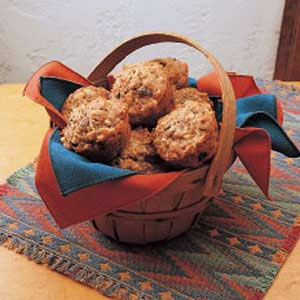 Fruit and Nut Muffins Recipe
