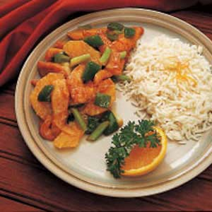 Orange Turkey Stir-Fry Recipe