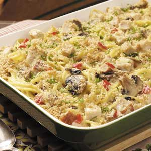 Classic Turkey Tetrazzini Recipe