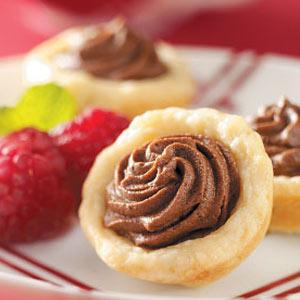 Chocolate Ganache Tarts Recipe