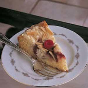 Cream Cheese Raspberry Coffee Cake Recipe