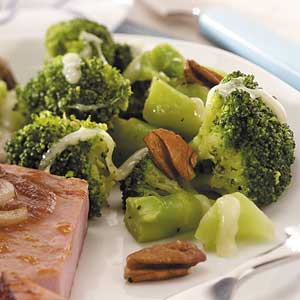 Nutty Broccoli Recipe