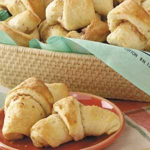 Almond-Filled Butterhorns Recipe