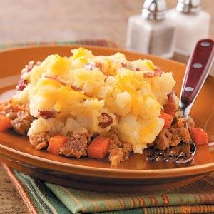 Potato-Topped Chicken Casserole Recipe